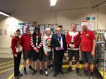 Mayor of West Devon Borough Council Thanks Local Postmen and Women