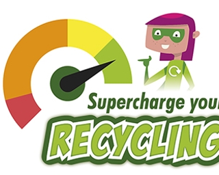 Super charge your recycling
