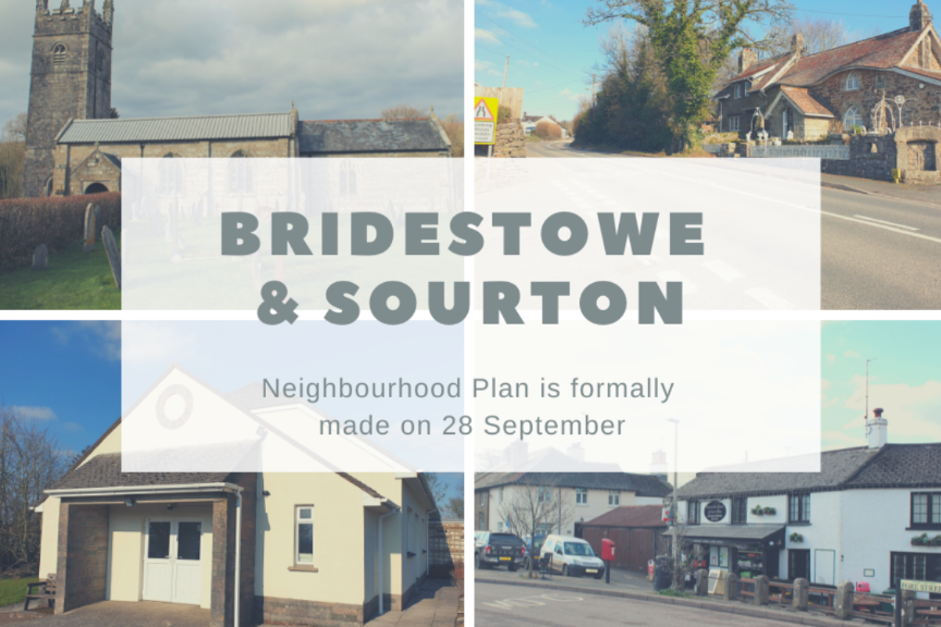 Bridestowe and Sourton Neighbourhood Plan